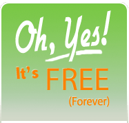 It's Free (forever)